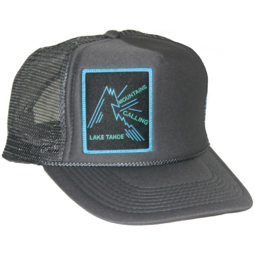 b522e7ea334 Lake Tahoe Logo Trucker Hat - Mountains Calling Store