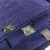 purple sparkle beanie